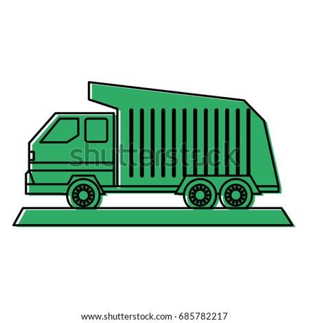 dump truck icon image