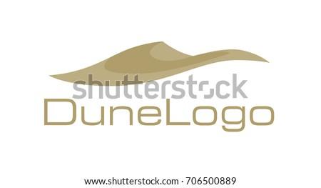 dune logo gold desert sent