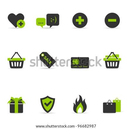 Duo tone Icons - E commerce