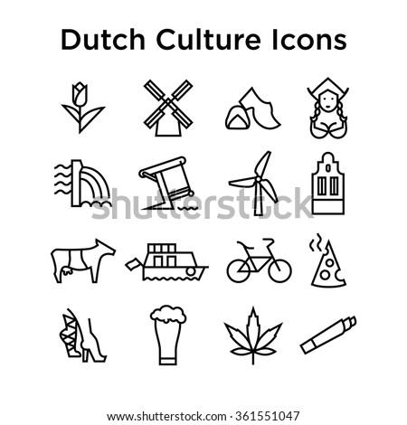 dutch culture icons  culture