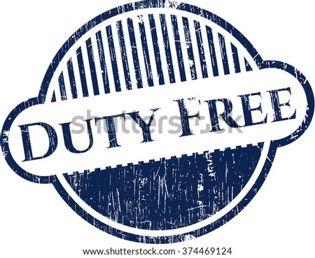 Duty Free rubber texture