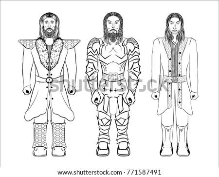 dwarf warriors fairy tale