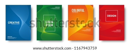Dynamic abstract background vector illustration