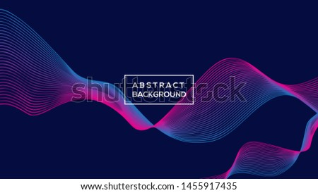 Dynamic abstract background vector illustration. Modern Background Design. modern vector design, modern template design. vector illustration .