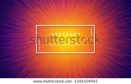 Dynamic background design with dynamic objects centered in the middle. Background with a mixture of yellow, red, and purple.