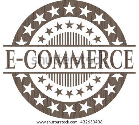 e-commerce vintage wood emblem