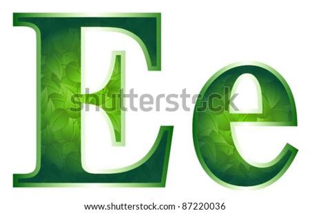 E leaf letter