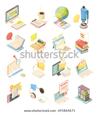 e learning set of isometric...