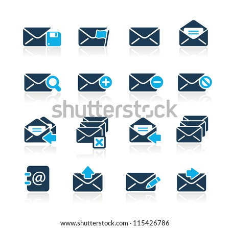 E-mail Icons // Azure Series