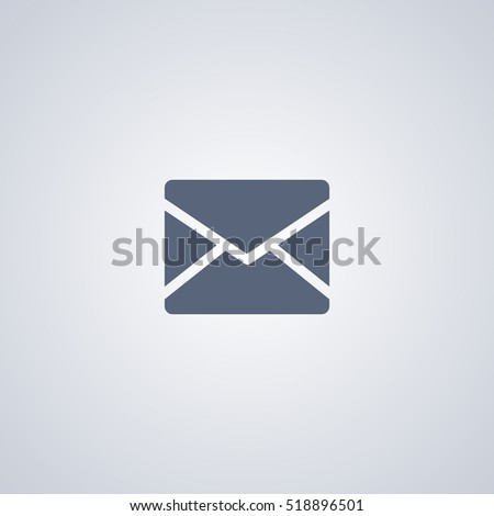 E-mail vector icon, mail vector icon