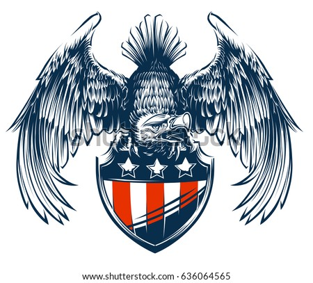 Eagle and Shield
