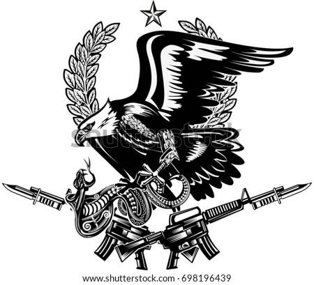 eagle and snake rifle
