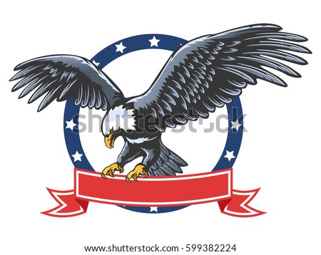 Amerikaanse Eagle Elements Download Gratis Vectorkunst En Andere