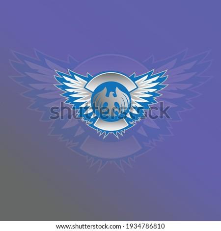Eagle Esport Mascot Logo Design Illustration Vector Eagle head esport logo gaming Eagle logo emblem design on dark background vector eagle print Vintage award design heraldic Coat of Arm Winged vector