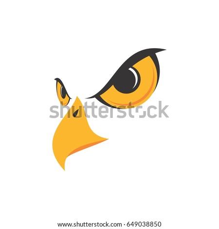 eagle face logo