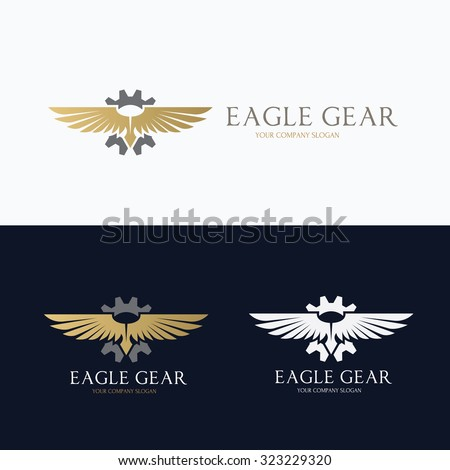 eagle gear  eagle logo  wing