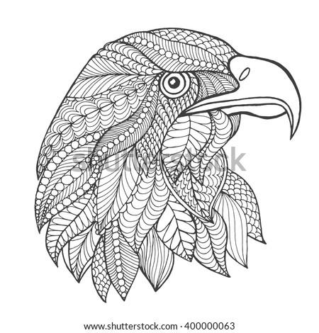 eagle head adult antistress
