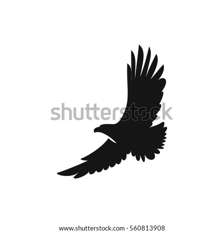 Shutterstock eagle icon illustration isolated vector sign symbol