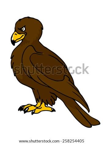 Eagle illustration.