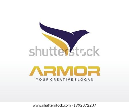 Eagle Logo design. Fly Eagle Logo design vector inspiration