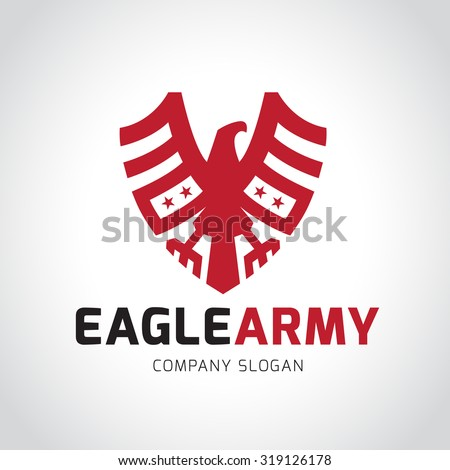 eagle logo eagle army  animal