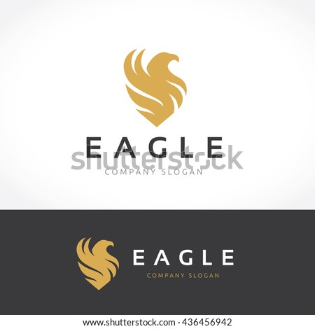 eagle logo template