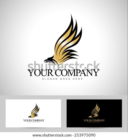 eagle logo vector creative