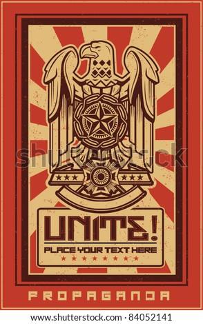 Eagle Propaganda Poster