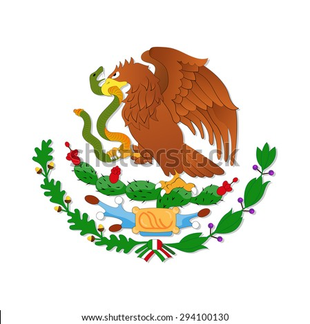 eagle  symbol of the mexican