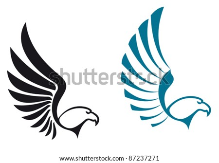 Eagle With Wings And Claws Mascot Logo Vector Download Free Vector