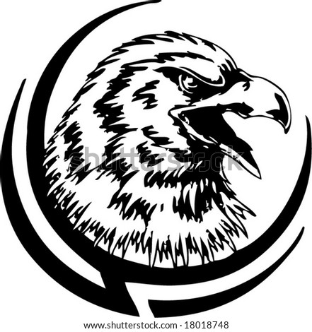 Tribal Eagle Tattoo.jpg. Vintage Eagle Tattoos And More They hit the glow in