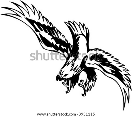 stock images similar to id 69211609 swooping tattoo eagle. Black Bedroom Furniture Sets. Home Design Ideas