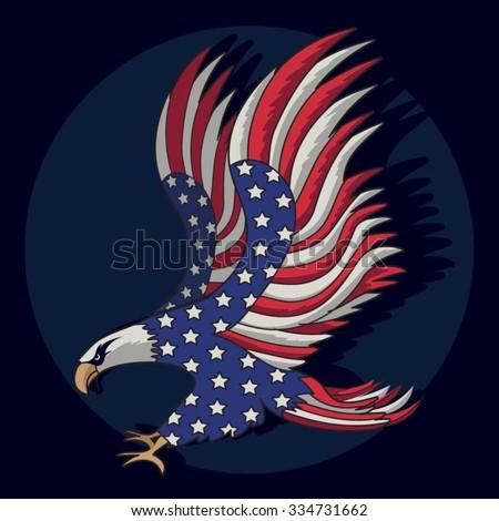 eagles flag american