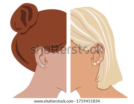 ear piercing earrings fashion