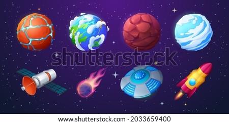 earth  alien planets  rocket