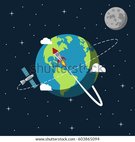 earth art design vector
