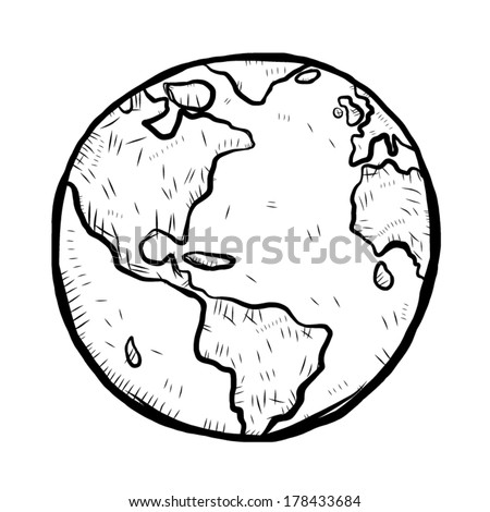 earth   cartoon vector and