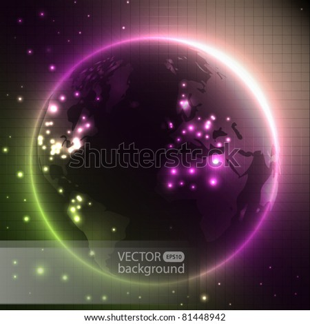 earth   color vector background