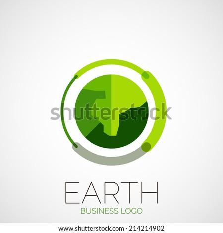 earth company logo design
