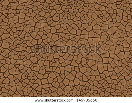 earth cracked because of drought