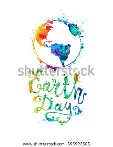 earth day april 22 splash
