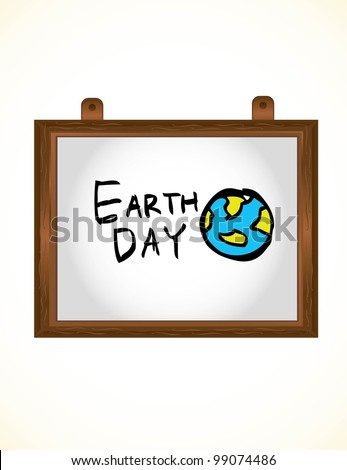 earth day cartoon