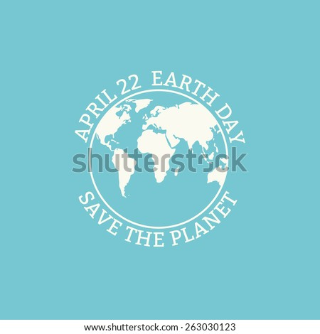 earth day concept earth day