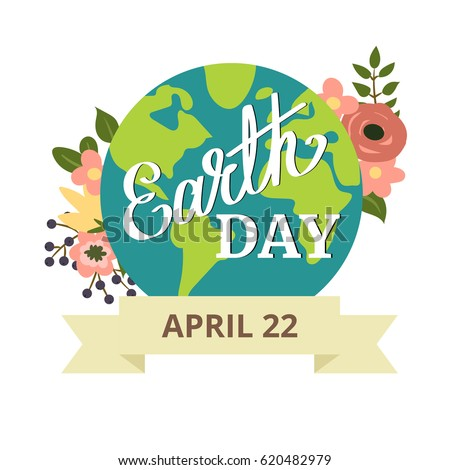 earth day earth planet with