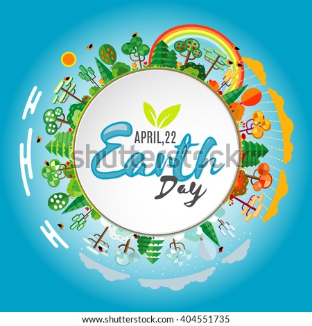 earth day eco friendly ecology