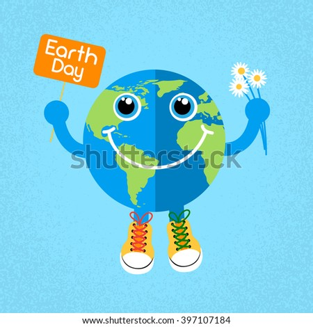 earth day globe wear trainers