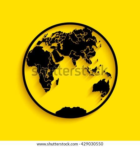 earth icon logo