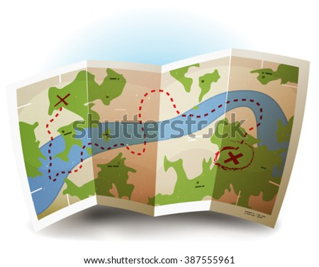 earth map icon  illustration of