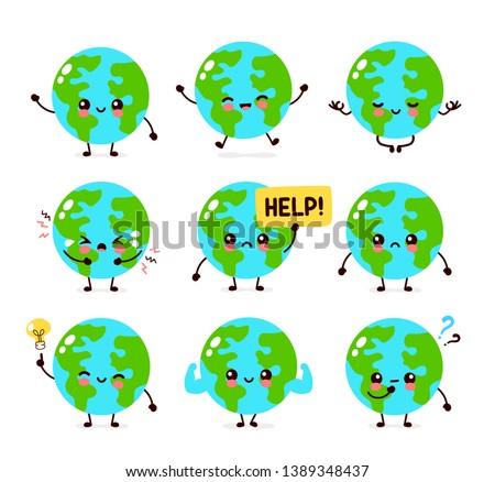earth planet character set