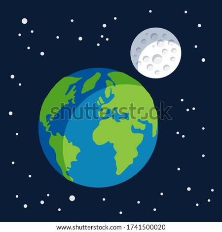 earth planet earth globe with